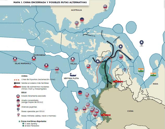 South China Sea, Maritime Disutes, disputas marítimas, mar del sur de china, estrategia, geopolítica,