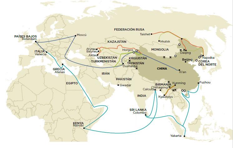 Silk road, china, ruta de la seda, esrategia, strategy